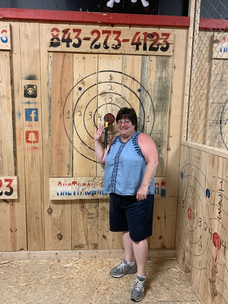Jack Axe Throwing: 3606 Hwy 17 S, North Myrtle Beach, SC
