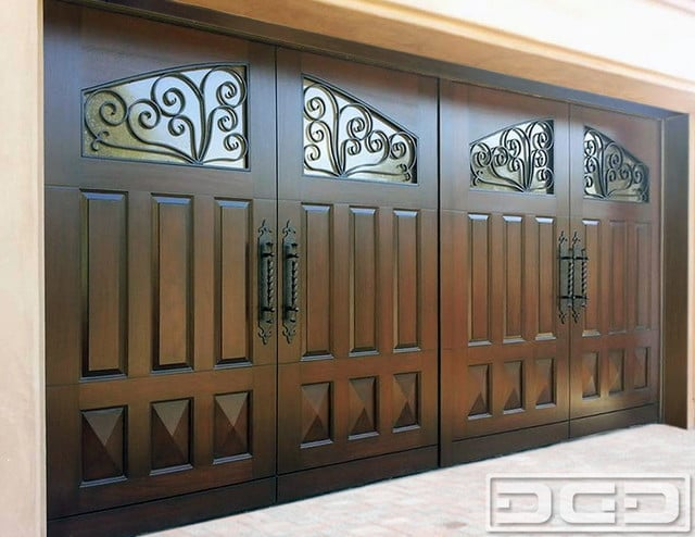 Mediterranean Style Garage Doors In Orange County Ca