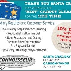 Photo Of Connoisseur Carpet Tile Upholstery Cleaning Santa Cruz Ca United