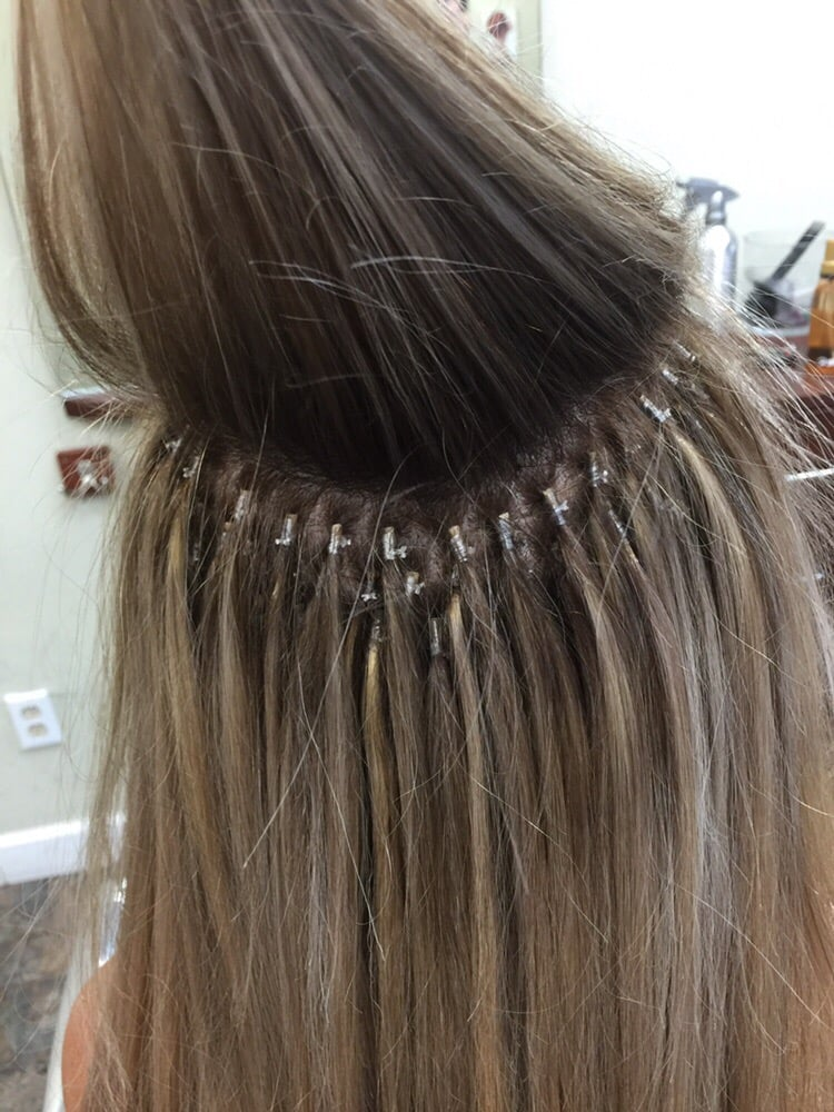 Italian Node Tie Single Bond Technic Hair Extensions Call Up For