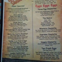 Suwannee Rose Cafe Menu