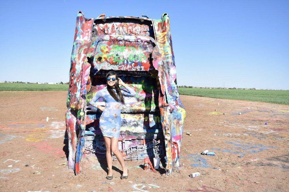 Cadillac Ranch: 13651 I-40 Frontage Rd, Amarillo, TX