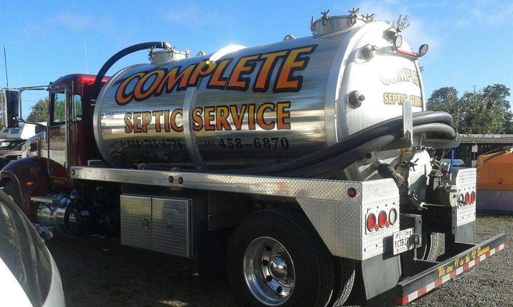 Complete Septic Service: 41092 Ziak Gnat Creek Ln, Astoria, OR