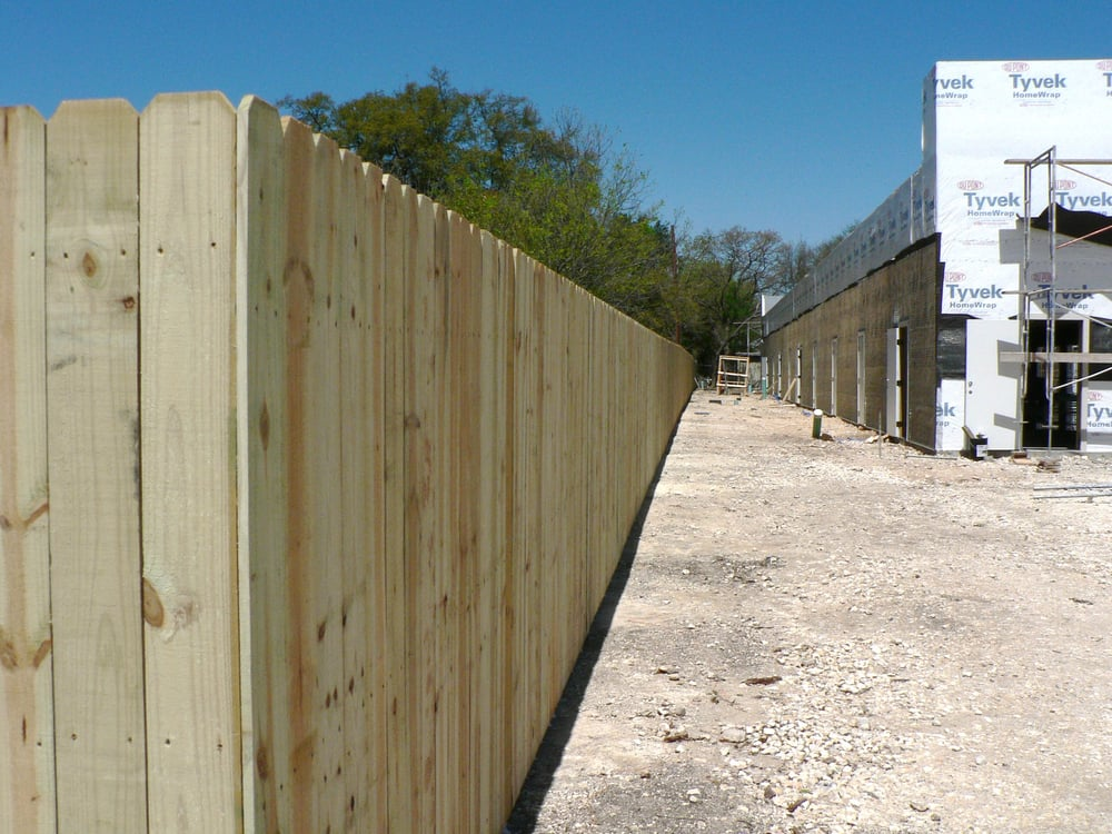 230 Ft Of Fence Using Pressure Treated Lumber Yelp