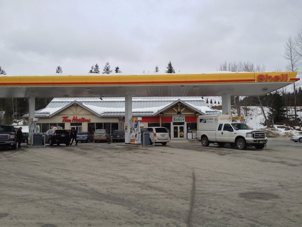 Shell Gas Stations 1840 Trans Canada Highway