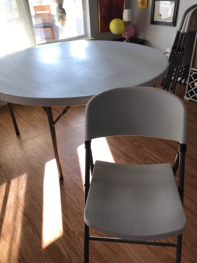 Tables and Chair Rental of Buda: 227 Park 35 Cv N, Buda, TX