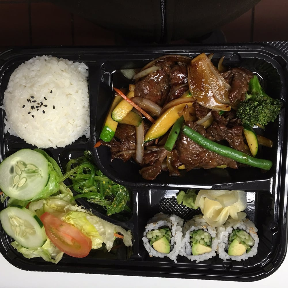 Beef teriyaki bento yelp for Aoi japanese cuisine newport