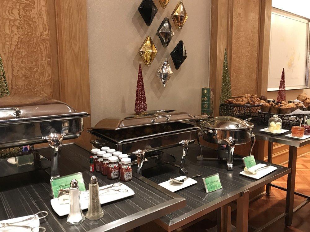 Morning Buffet at Four Seasons Hotel Atlanta
