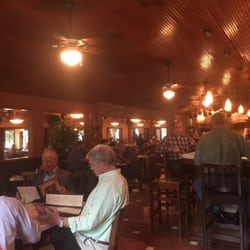 Photo Of Vincent S Restaurant Houston Tx United States Bar Area At Lunch