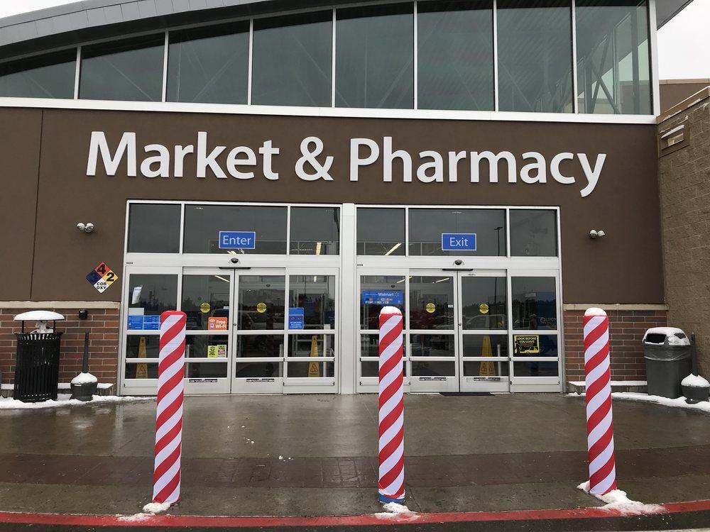 Walmart Supercenter: 505 S Pine Ridge Ave, Merrill, WI