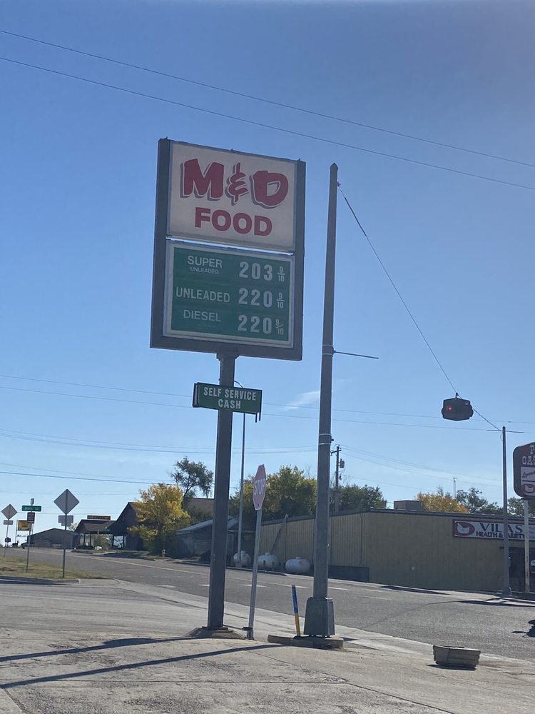M & D Food Shop: 105 N 1st Ave W, Faith, SD