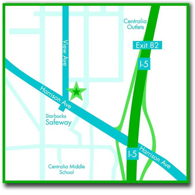 Centralia Physical Therapy: 1118 View Ave, Centralia, WA