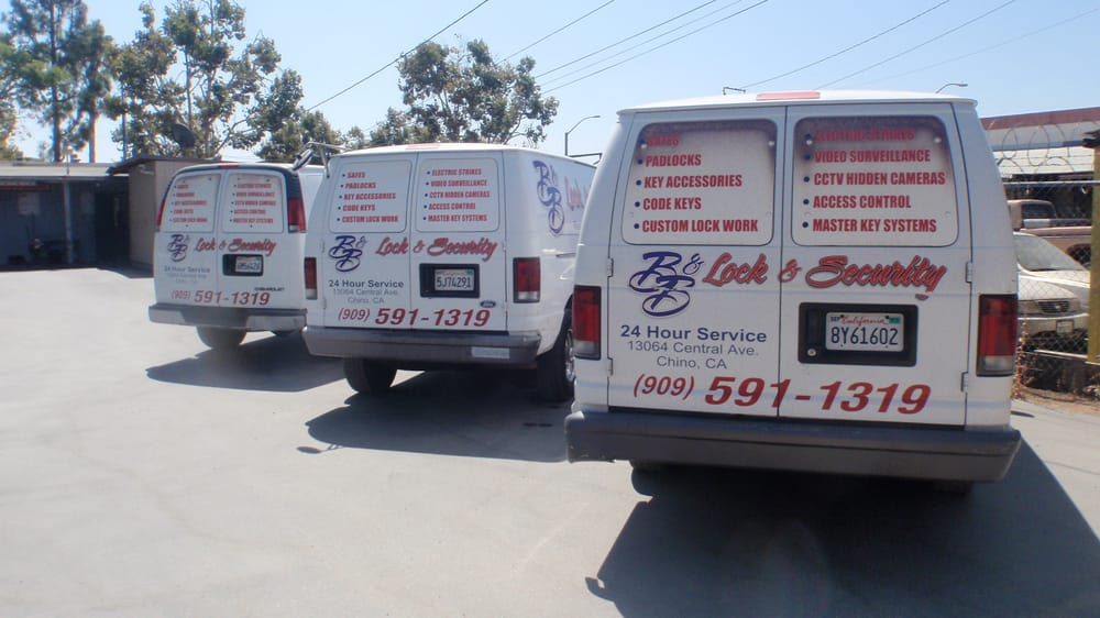 B&B Lock & Security: 13064 Central Ave, Chino, CA