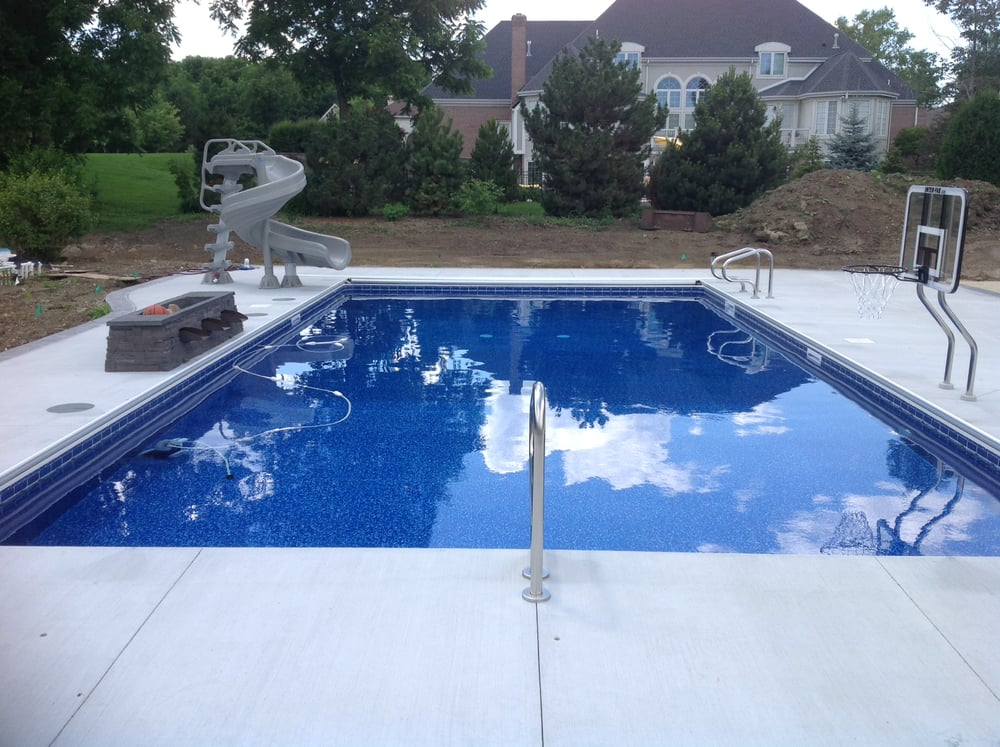 Photos for premier pools yelp for 16x32 pool design