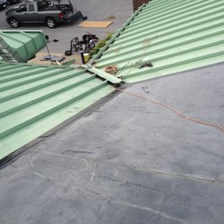 Photo Of Absolute Roofing   Atlanta, GA, United States. Metal Conversion To  Membrane