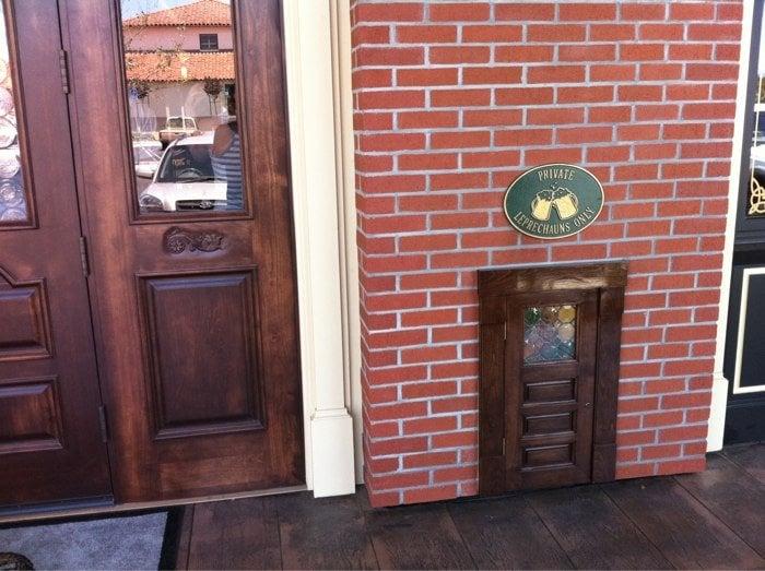 Photo of Rooneyu0027s Irish Pub - Orcutt CA United States. the leprechaun door & the leprechaun door - Yelp