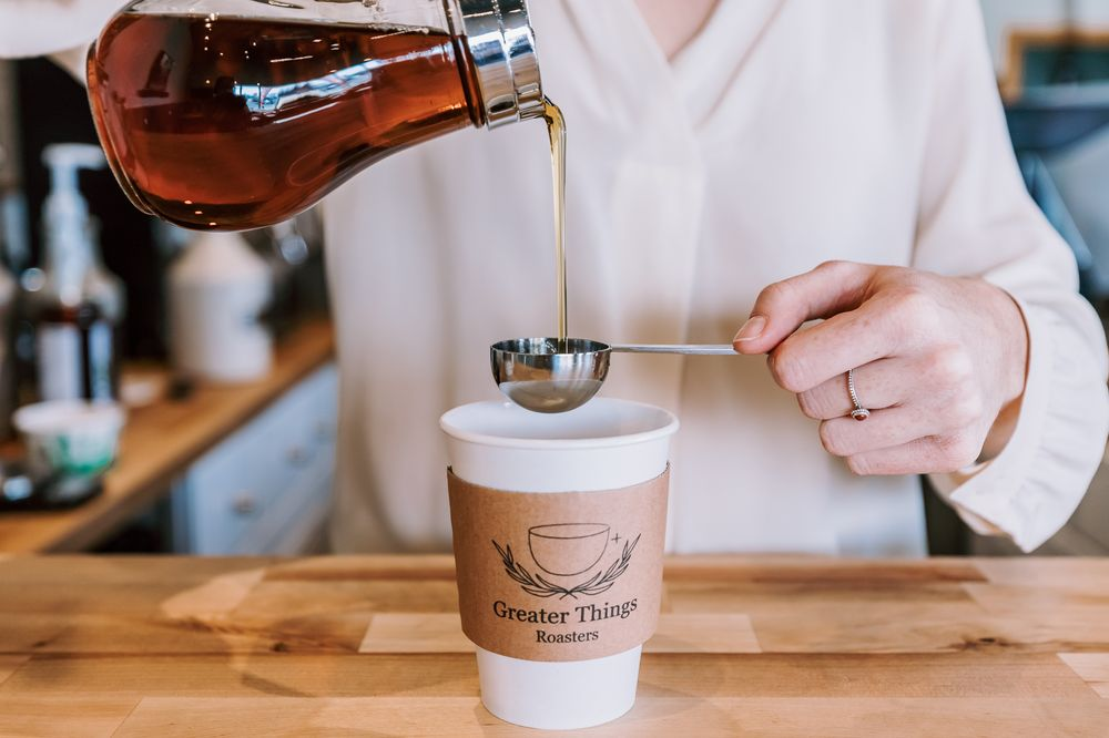 Greater Things Roasters: 10 Hope Plaza W, Coxsackie, NY