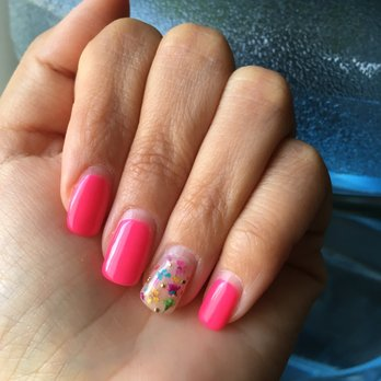Photo Of Pink Nails By Sarah Los Angeles Ca United States My