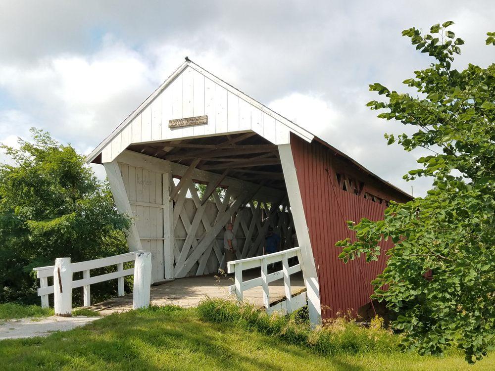 Imes Covered Bridge: East Main St, Saint Charles, IA