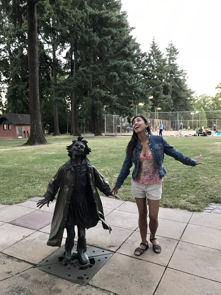 Beverly Cleary Sculpture Garden at Grant Park