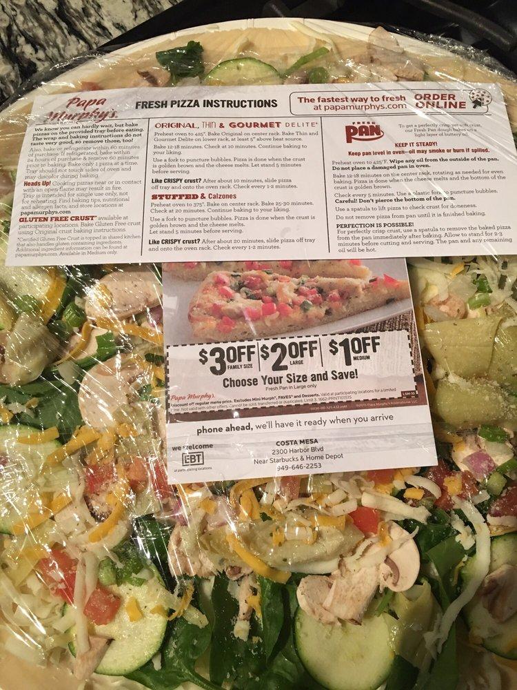 Papa murphy's take 'n' bake pizza bracket sweepstakes #loveat425.