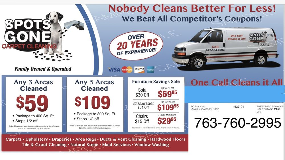 Spots Gone Carpet Cleaning & Restoration