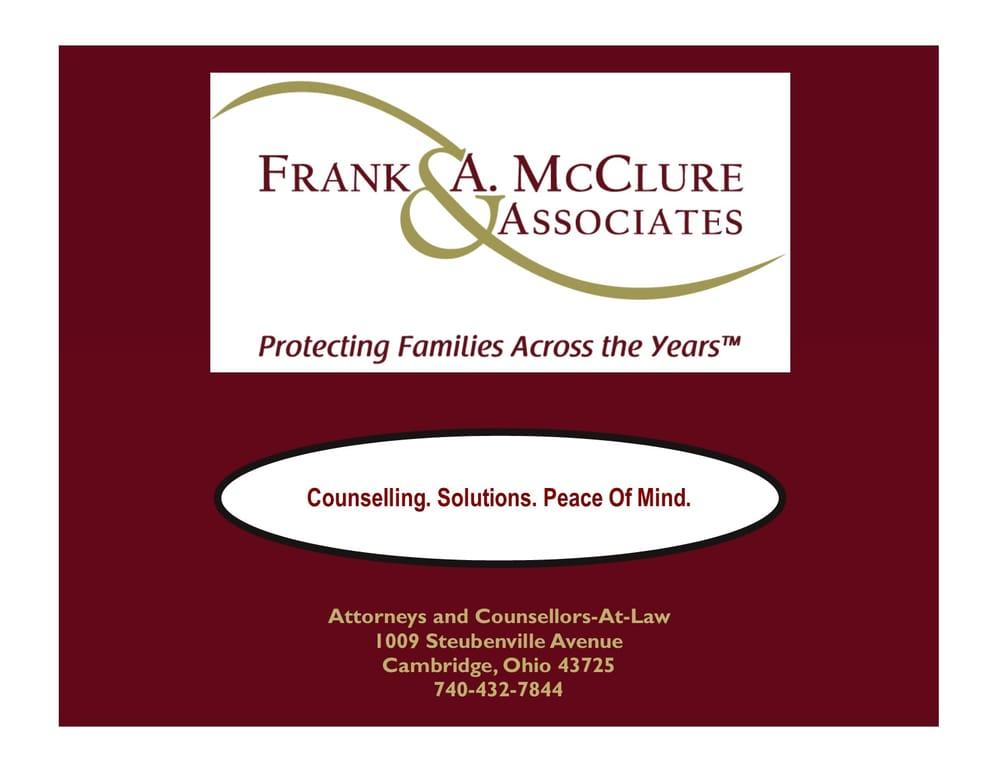 Frank A. McClure & Associates: 1009 Steubenville Ave, Cambridge, OH