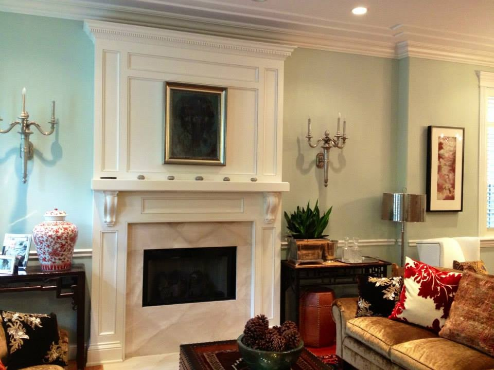 Photo Of Artist Painters Llc Chicago Il United States Benjamin Moore Palladian