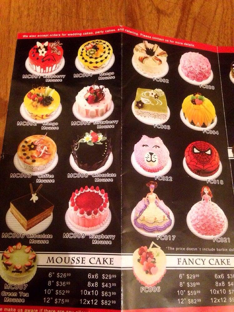 Birthday Cake Menu Yelp