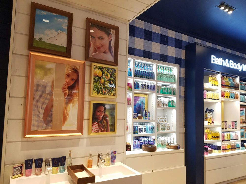 Bath and body works test stores