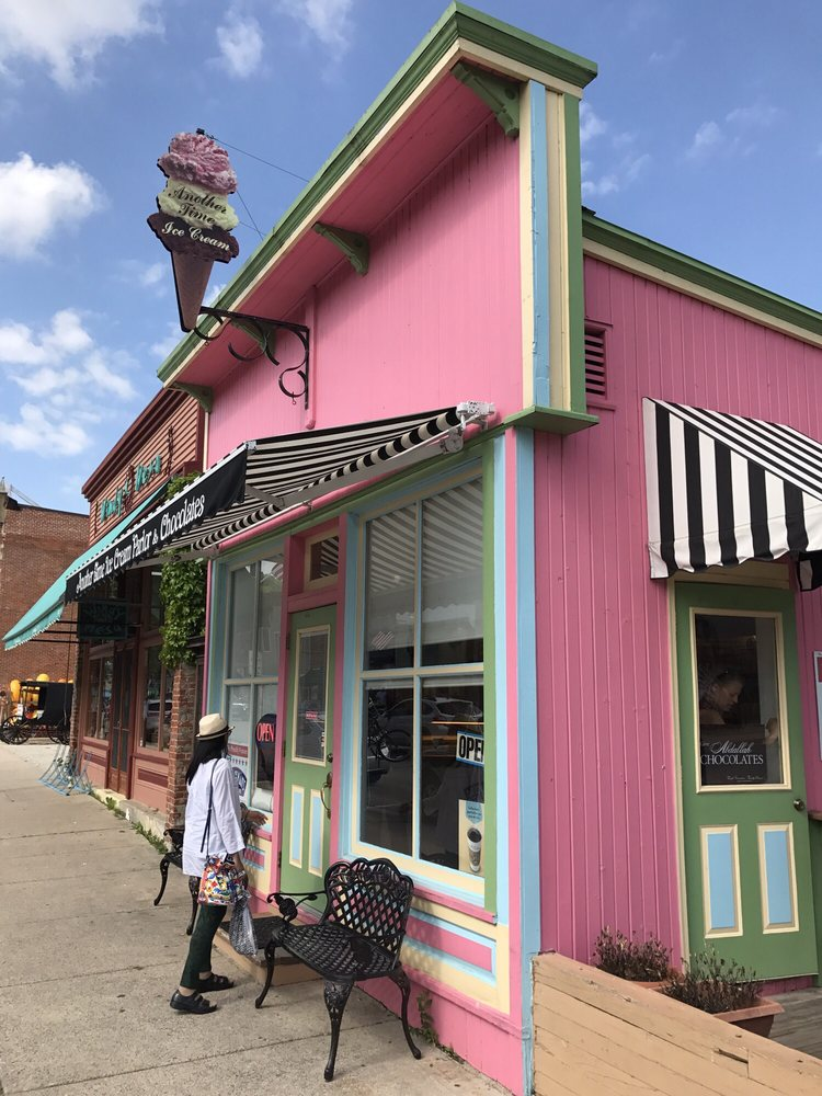 Another Time Ice Cream Parlor: 100 Parkway Ave N, Lanesboro, MN