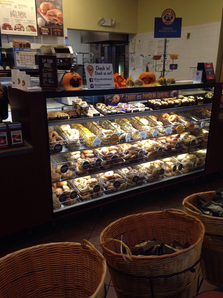 Einstein Bros Bagels: 803 W Anthony Dr, Champaign, IL
