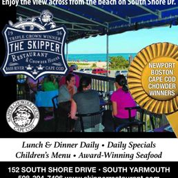 Skipper Chowder House 298 Photos 384 Reviews Seafood 152 S Shore