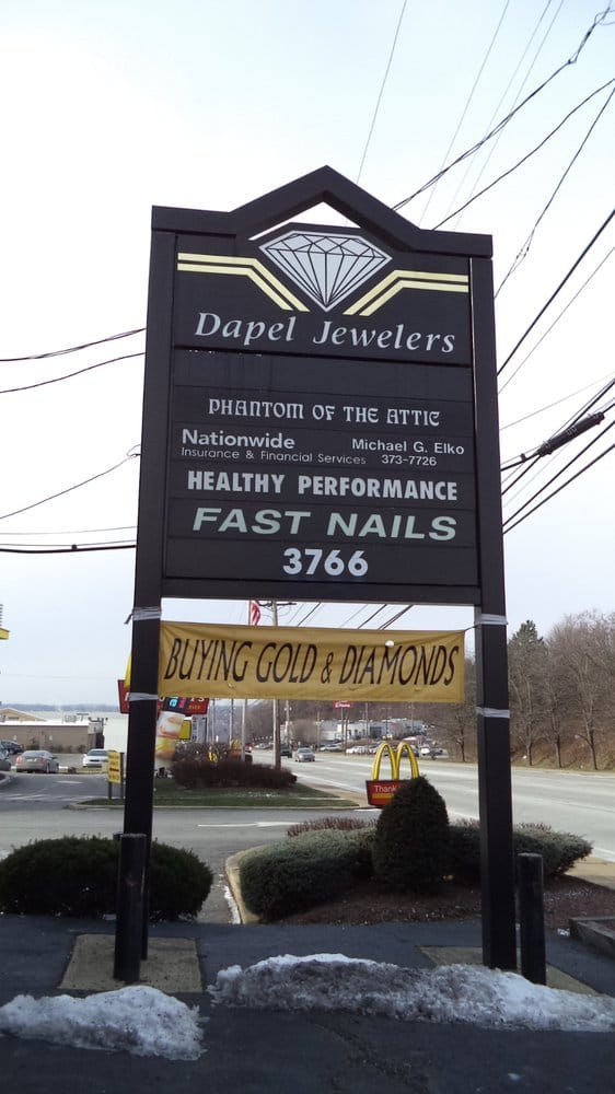 Dapel Jewelers - Jewelry - 3766 William Penn Hwy, Monroeville, PA ...