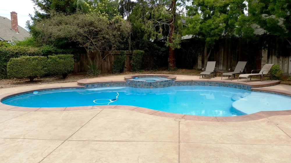 colored concrete around pool. photo of provision concrete modesto ca united states colored stamped pool around