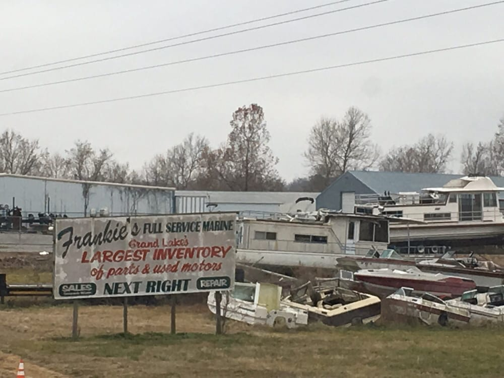 Frankie's Marine Repair: 24871 S 655th Rd, Grove, OK