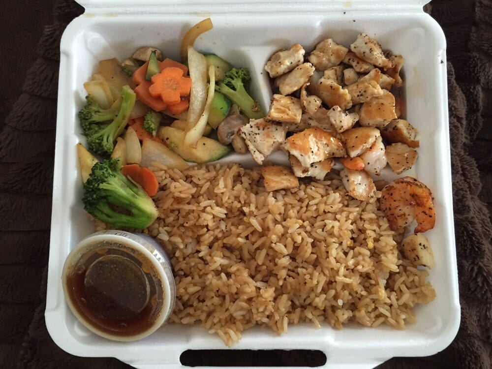 Chicken and shrimp lunch hibachi yelp for Asian cuisine express