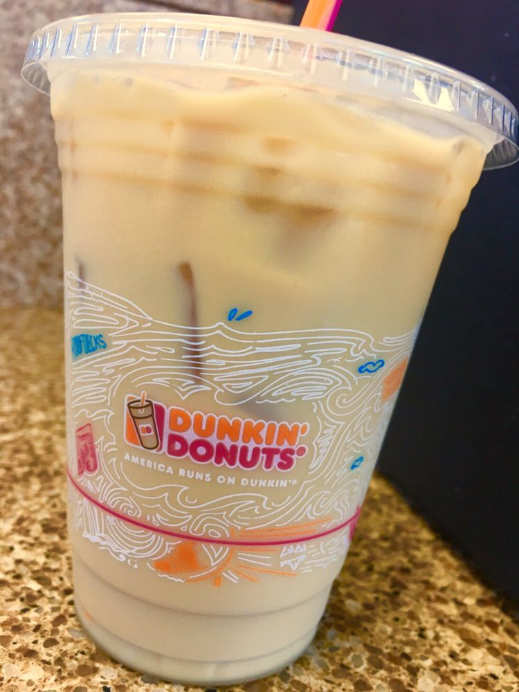 french vanilla iced coffee