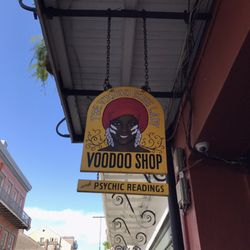 The Voodoo Bone Lady Voodoo Shop - 628 Royal St, French