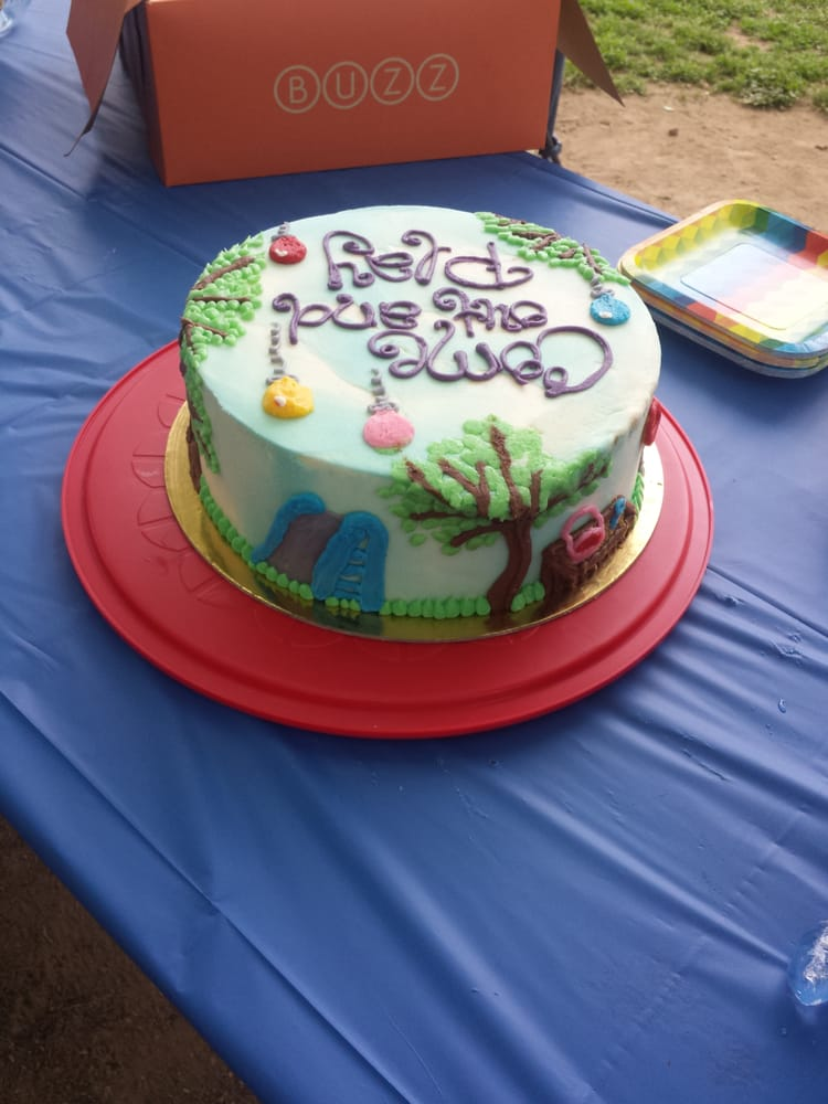 Playground Themed Cake That Buzz Bakery Made For A Baby Shower Yelp