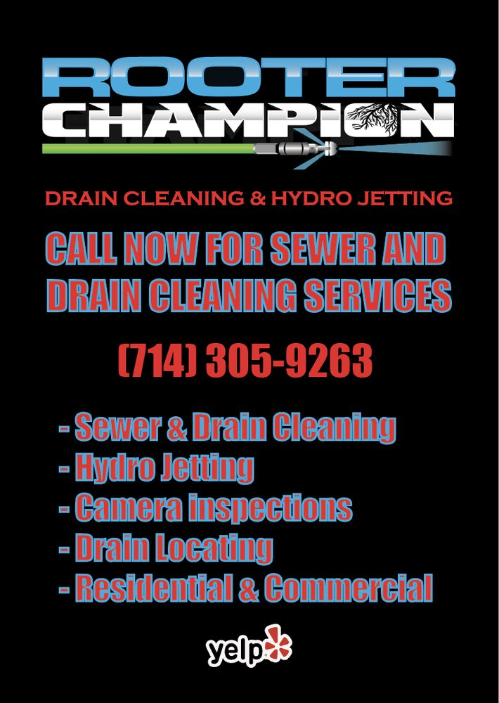 Rooter Champion Drain Cleaning & Hydro Jetting