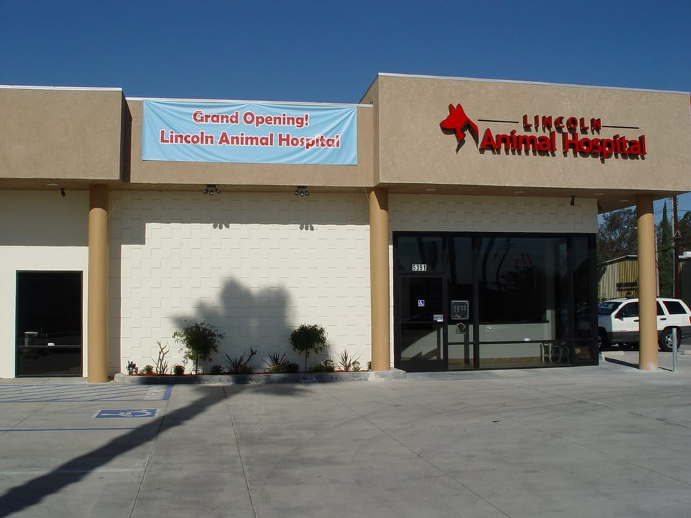 Lincoln Animal Hospital: 5391 Lincoln Ave, Cypress, CA