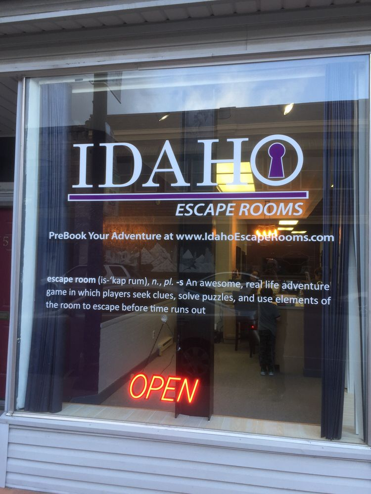 Idaho Escape Rooms: 387 Park Ave, Idaho Falls, ID
