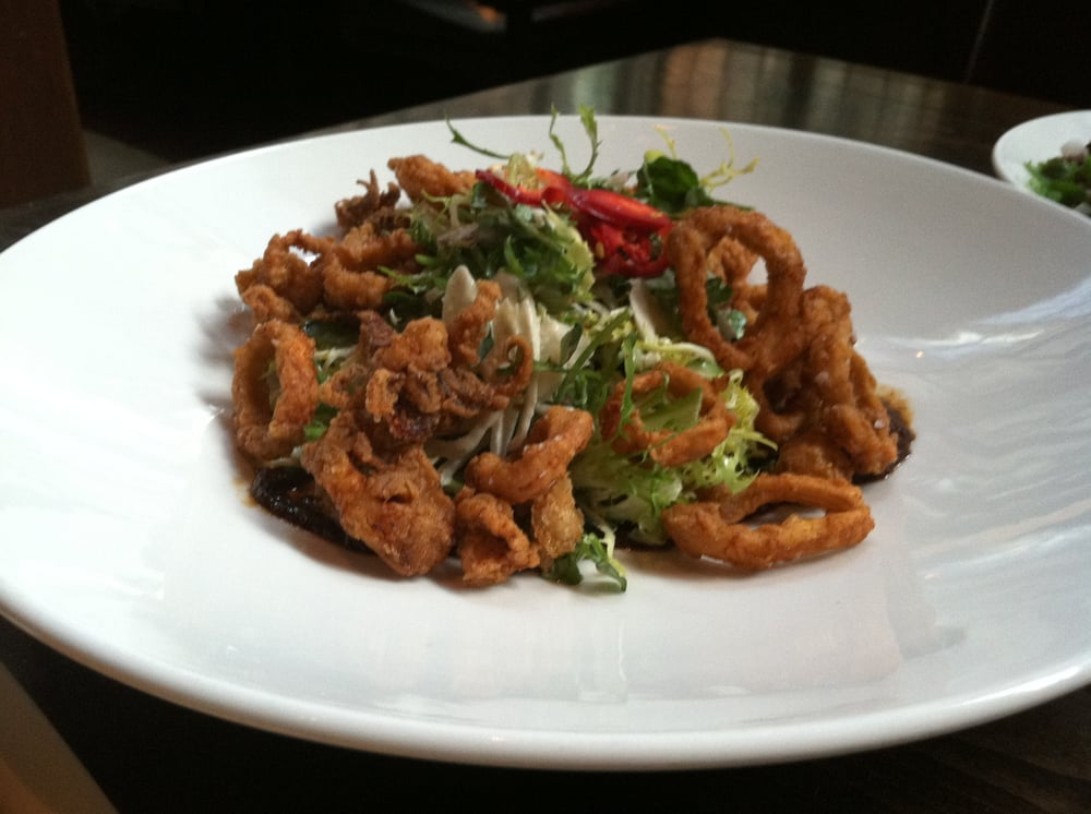 Crispy Calamari Salad - Yelp