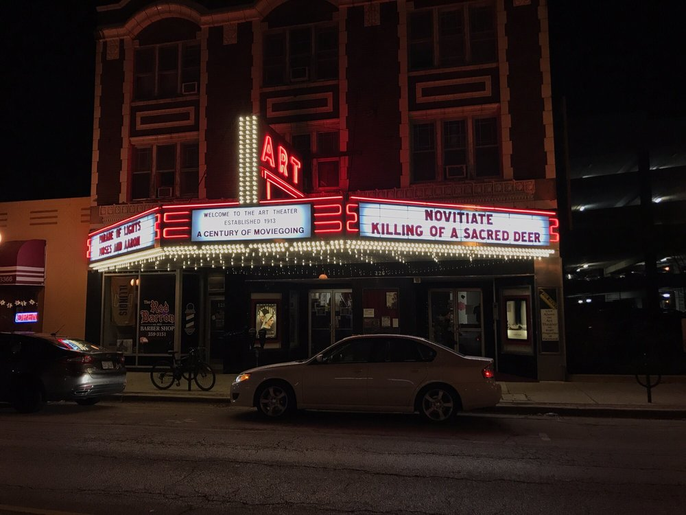 The Art Theater: 126 W Church, Champaign, IL