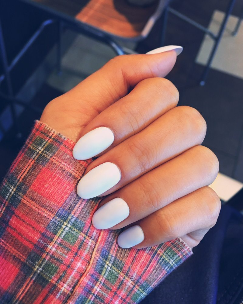 Perfect shellac mani!!! Thanks Diamond Nail Salon - Yelp