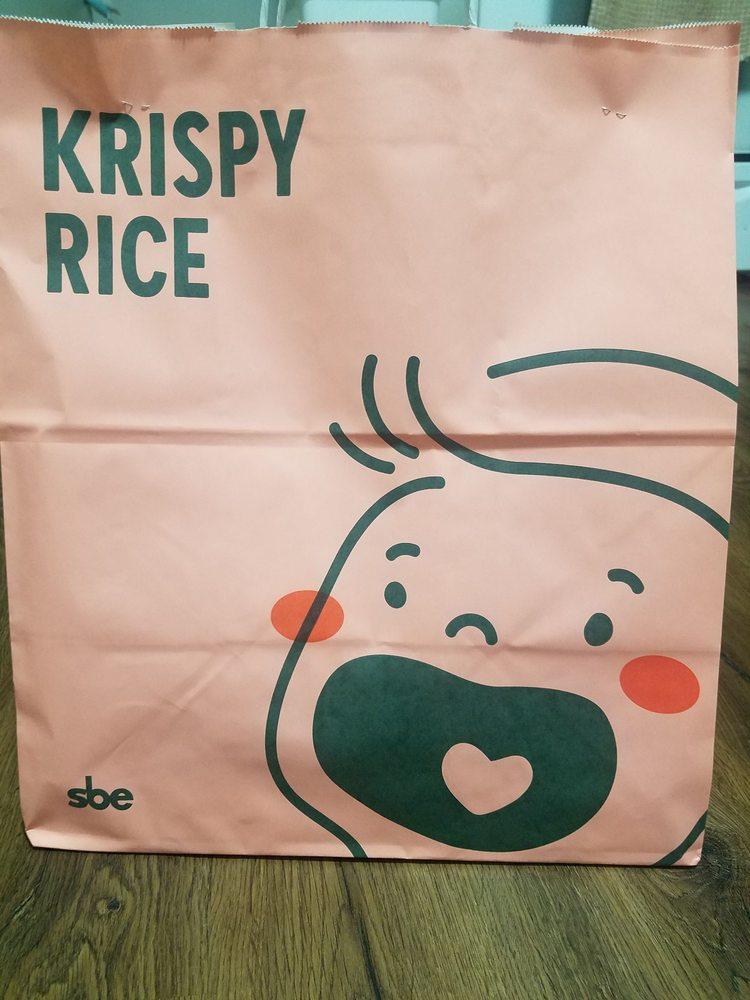 Food from Krispy Rice