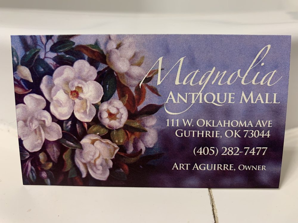 Magnolia Antique Mall: 111 W Oklahoma Ave, Guthrie, OK