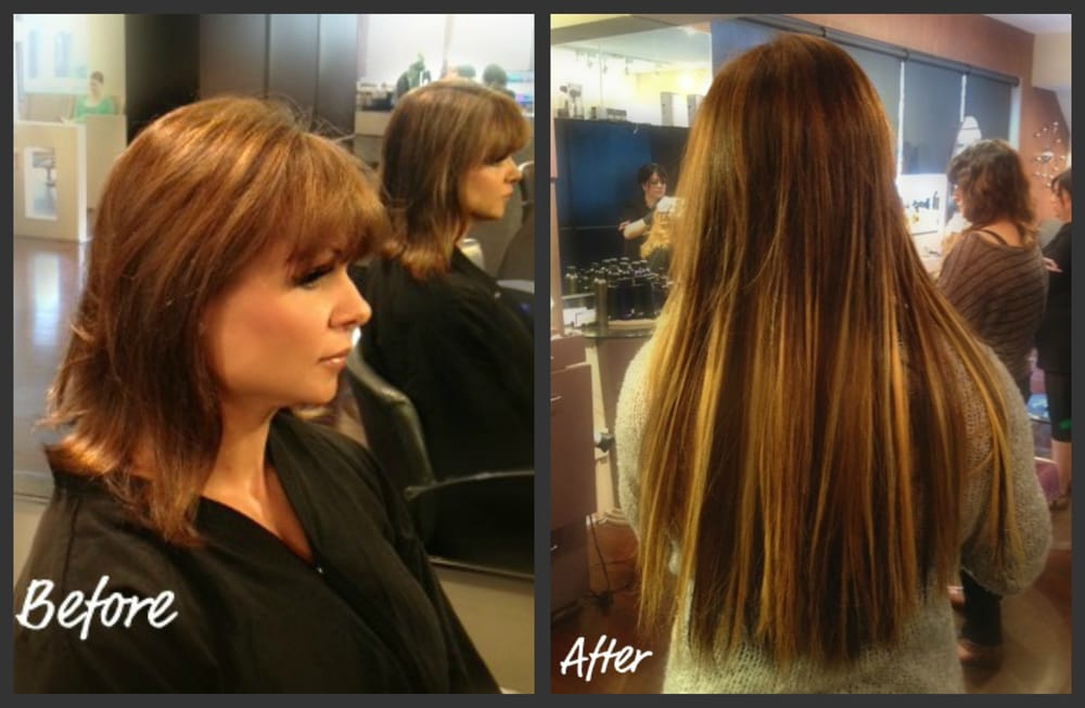 Amazing Great Length Extensions By Stylist Carrie Yelp