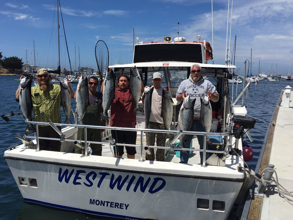 Westwind charter sport fishing excursions angeln 66 for Monterey sport fishing